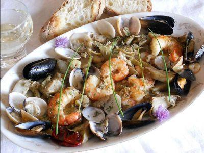 offerta antipasto misto mare promozione grigliata di pesce occasione risotto alla pescatora