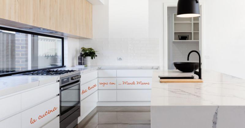 MANILI MARMI offerta top cucina artigianale terni - occasione top cucina su misura