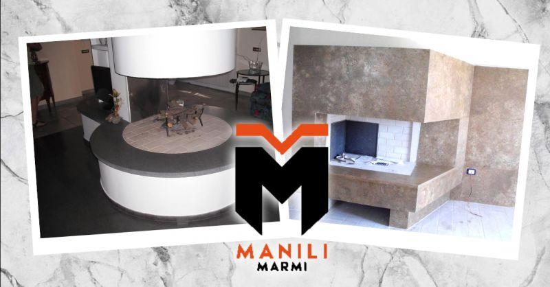 offerta realizzazione rivestimenti per camini Terni - occasione produzione camini in marmo