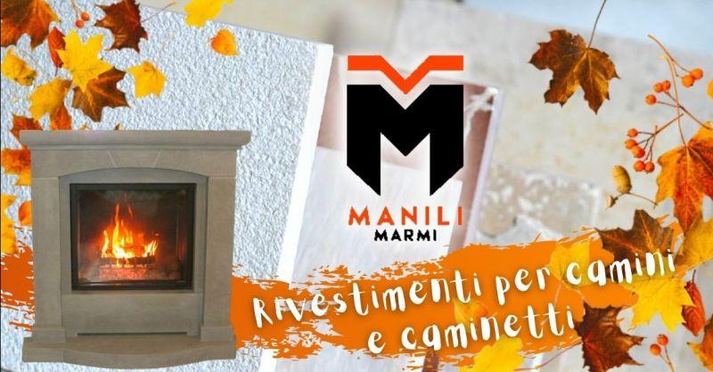 Offerta rivestimenti in marmo per camini tradizionali - Promozione rivestimento caminetti termici in dekton granito Terni