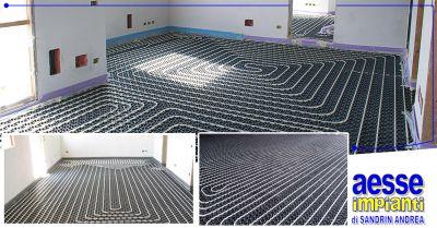 aesse impianti offerta realizzazione impianti riscaldamento pavimenti ponzano veneto