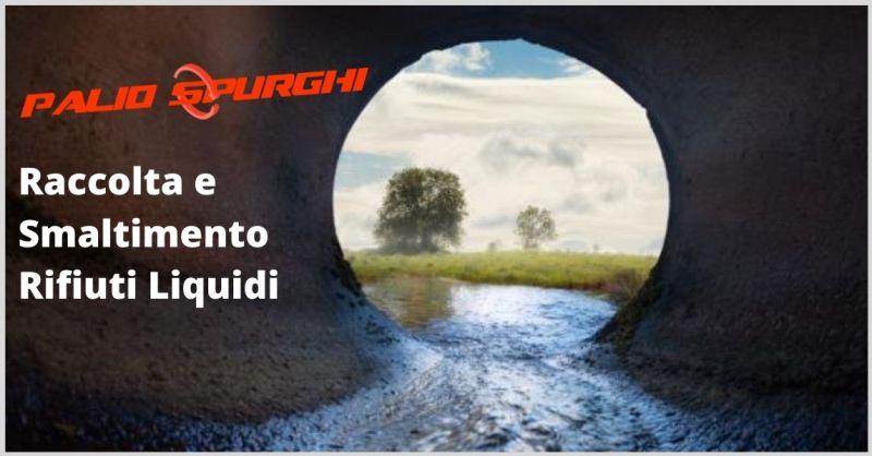 PALIO SPURGHI - occasione raccolta e smaltimento rifiuti liquidi Siena