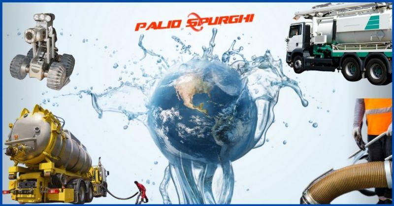 PALIO SPURGHI - offerta servizi ecologici spurgo pozzi e pulizia fogne h24