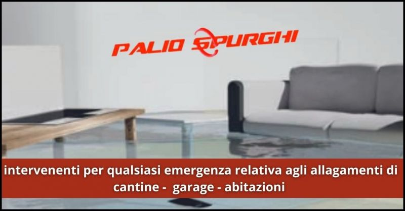 offerta prosciugamento e bonifica locali da acqua Siena - offerta intervento allagamenti cantine