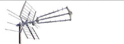 antenna logaritmica iii iv v 56 elementi quot lte free quot premontata