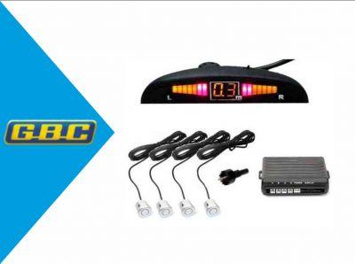 kit 4 sensori di parcheggio con display led