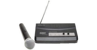 kit radiomicrof 1 canale microfono a impugnat