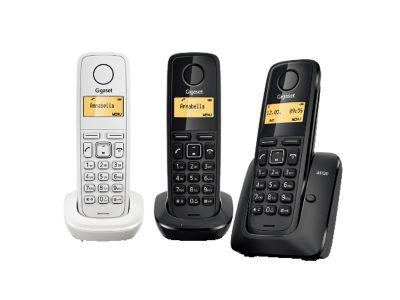 tris di telefoni dect gigaset a120 gbc oristano