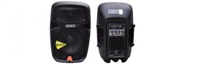 box audio professionale potenza max 120w con usb sd