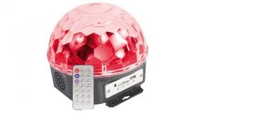 effetto speciale magic dj ball con mp3