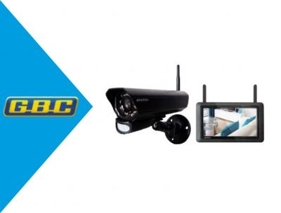 monitor 7 touch con dvr integrato internet one click piu telecamera wireless 1mp 720p con int