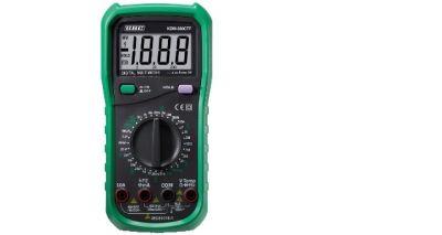 multimetro digitale con capacimetro frequenzimetro e termometro