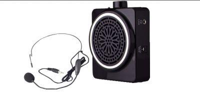 miniamplificatore portatile ricaricabile con microfono