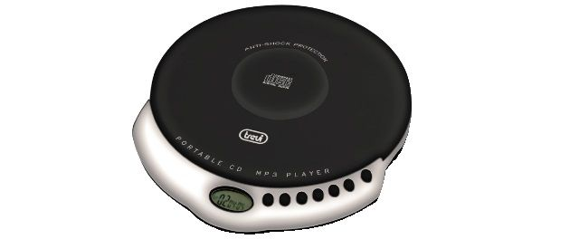 LETTORE CD/MP3 PORTATILE TREVI