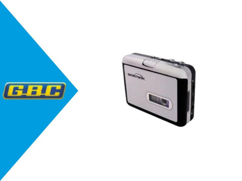 GBC ELETTRONICA  - OFFERTA CONVERTITORE USB DA CASSETTA AUDIO A MP3