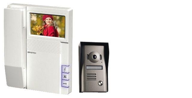 VIDEOCITOFONO A COLORI CON SCHERMO DA 4,3