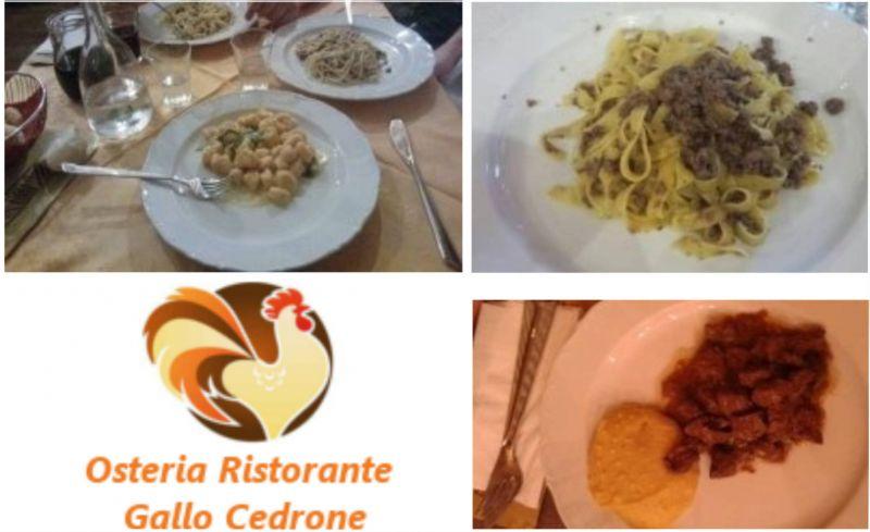 offerta cucina tipica e prodotti locali di montagna - occasione osteria cucina casalinga