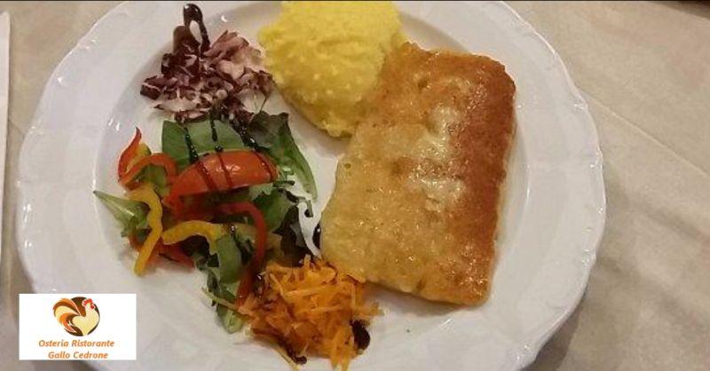 Osteria Ristorante Gallo Cedrone occasione cibo genuino - offerta piatti tipici Pordenone