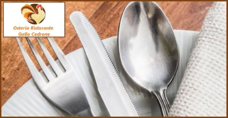 OSTERIA GALLO CEDRONE offerta secondi piatti tipici Pordenone - occasione cibo locale Pordenone