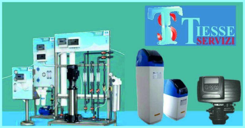 offerta vendita e manutenzione impianti per il trattamento delle acque - TIESSE SERVIZI
