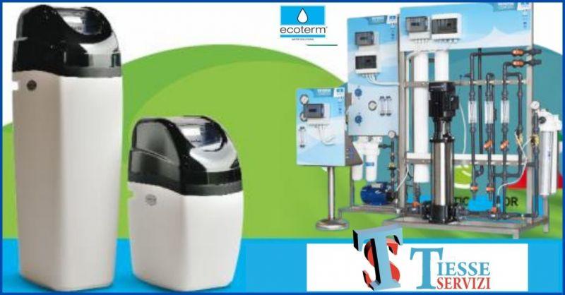 TIESSE SERVIZI - centro vendita assistenza e manutenzione trattamento acque ECOTERM a Siena