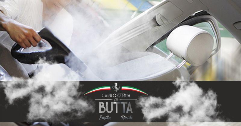 Offerta Lavaggio interni auto vapore Bergamo - Occasione Servizio Sanificazione  Auto Palazzago