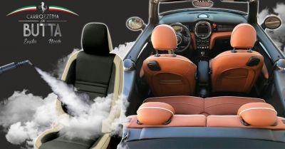 offerta lavaggio degli interni auto a vapore occasione trattamento auto di igienizzazione all ozono