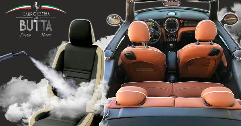 Offerta Lavaggio degli interni Auto a vapore - Occasione Trattamento Auto di igienizzazione all'ozono