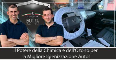 offerta servizio igienizzazione chimica auto bergamo occasione servizio sanificazione auto ozono bergamo