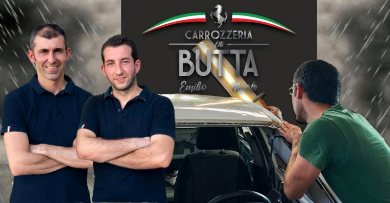 Offerta Carrozzeria servizio riparazione danni da grandine Bergamo - Occasione Levabolli Carrozzeria Auto