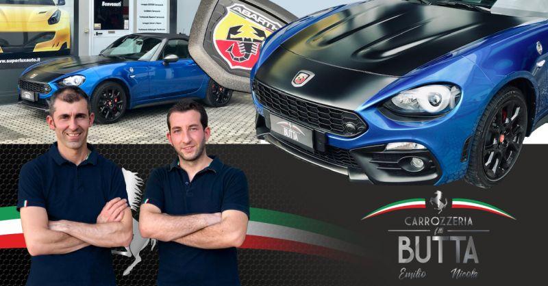 Offerta Detailing Auto da Collezione Bergamo - Occasione Carrozzeria Abarth Bergamo