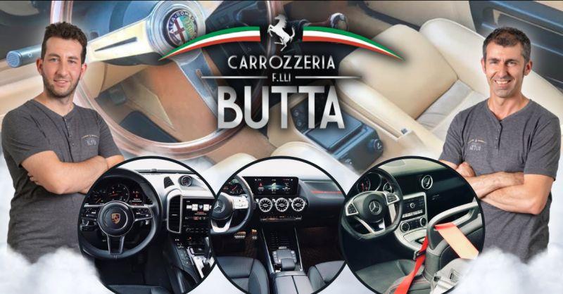 CARROZZERIA F LLI BUTTA - Offerta lavaggio tappezzeria e interni auto a vapore Bergamo