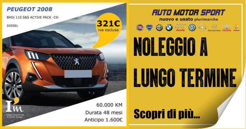 AUTO MOTOR SPORT - offerta noleggio a lungo termine Peugeot 2008