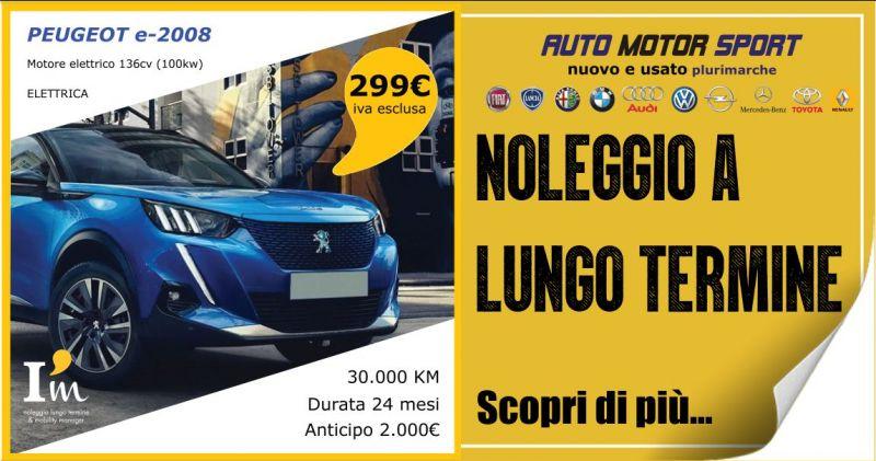 AUTO MOTOR SPORT - offerta noleggio a lungo termine Peugeot e 2008