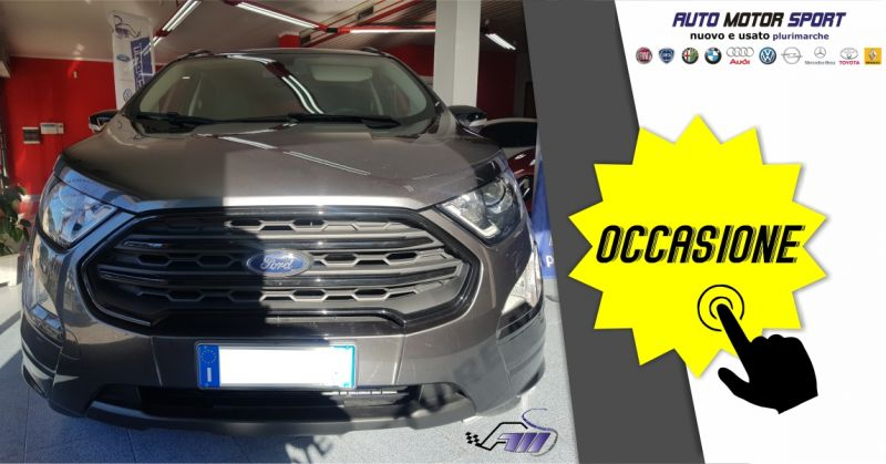 AUTO MOTOR SPORT - occasione Ford ecosport 1.5 tdci 100 cv