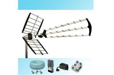 antenne alimentatore tv cavo tv partitore tv connettori tv impianto digitale terrestre