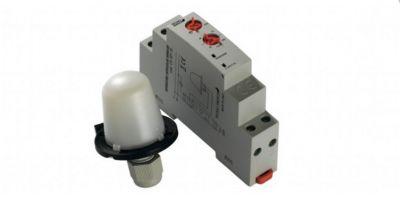 interruttore crepuscolare modulare crepuscolare per luci orologio per luci esterne