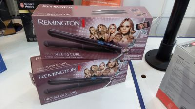 piastra per capelli remington pro sleek curl