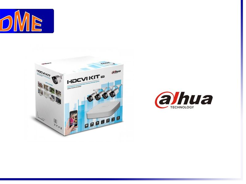 Offerta Vendita Kit professionale Dahua Videosorveglianza - Elettroforniture