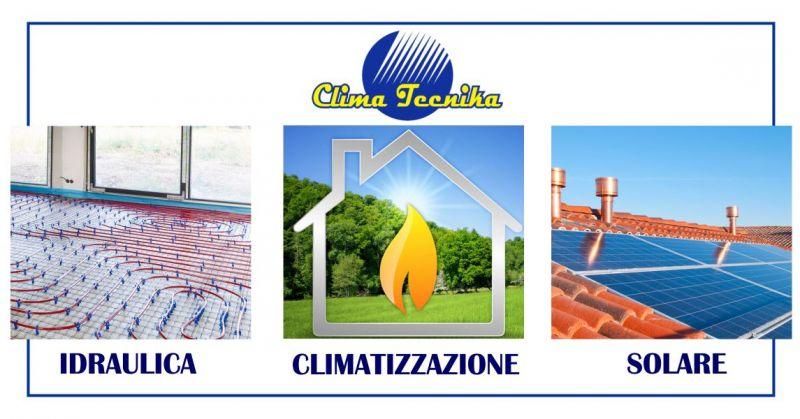 Clima Tecnika Oristano - offerta prodotti termoidraulica climatizzazione solare termico