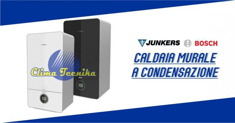 Clima Tecnika - offerta Caldaia murale Junkers Bosch combinata a condensazione 7000i