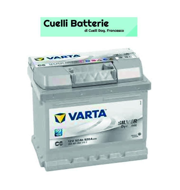 promozione batterie auto offerta varta 52 ah cuelli batterie brescia