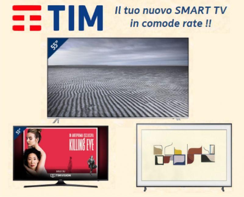Centro TIM - MhzStore promozione Smart TV TIM