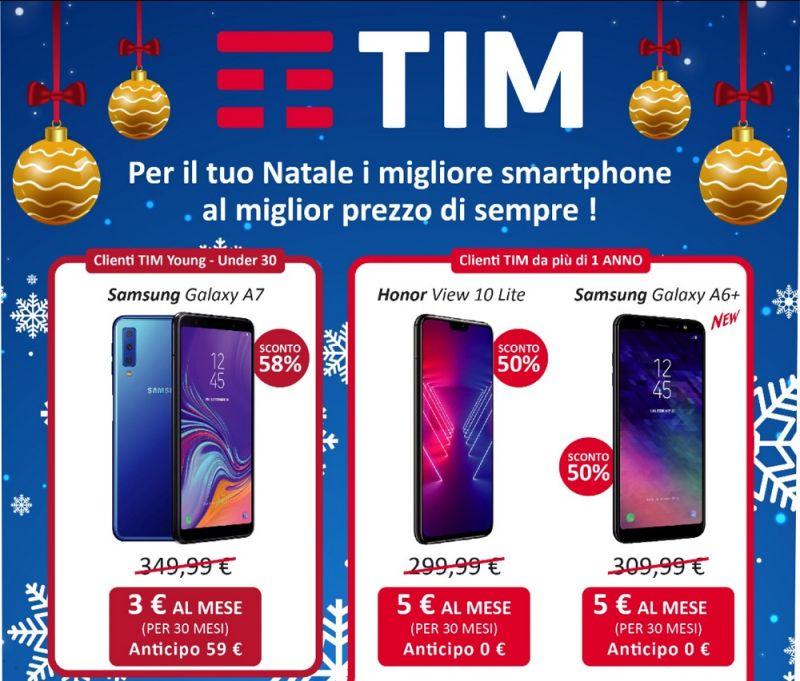 Promozione smartphone - offerta Tim smartphone