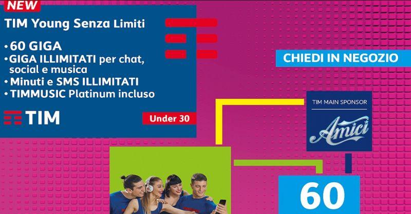 offerta negozio telefonia TIM Siena - occasione TIM tariffa per ragazzi Siena