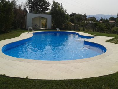 la piscina in tre fasi