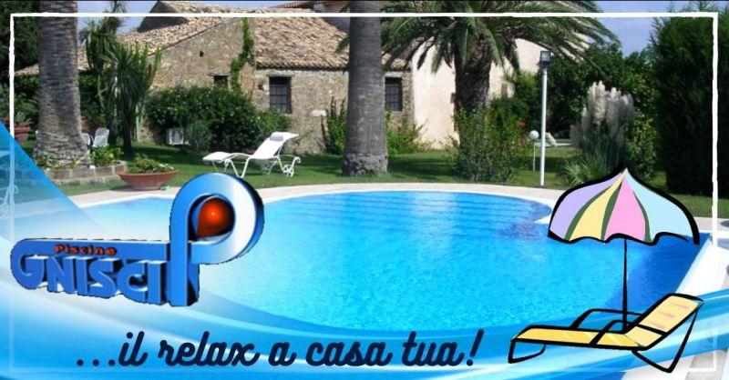 Offerta costruzione piscina privata interrata Cosenza - occasione piscine da giardino Montalto