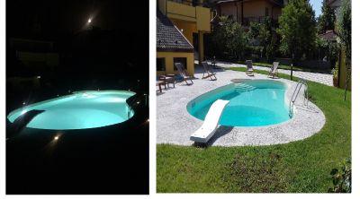 offerta realizzazione piscine notturne cosenza occasione progettazione piscine interrate