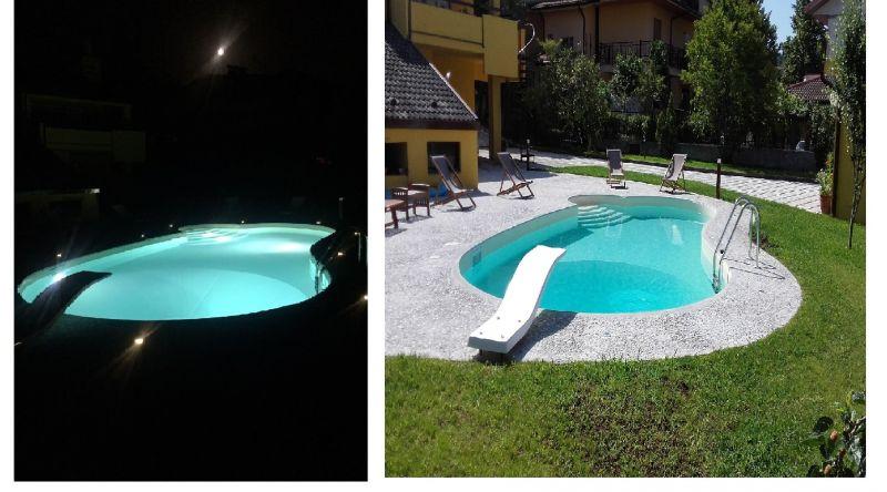 Offerta realizzazione piscine notturne Cosenza - occasione progettazione piscine interrate