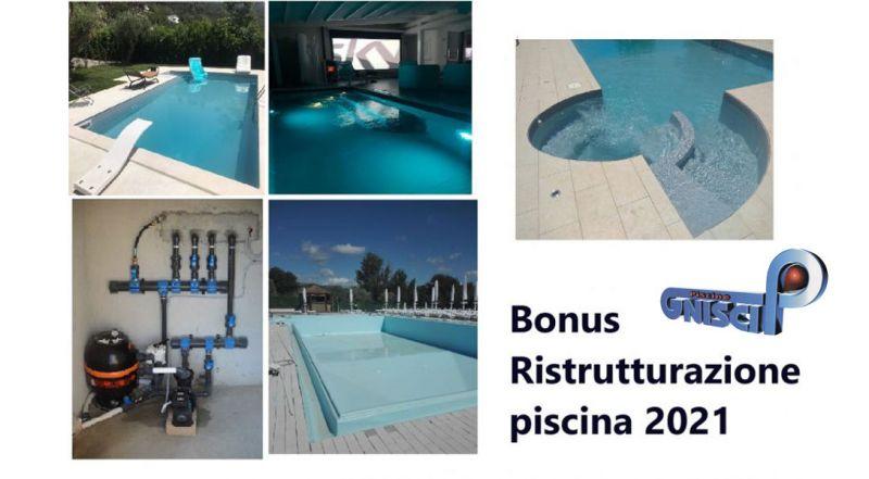 Piscine Gnisci - offerta Bonus Ristrutturazione Piscina 2021